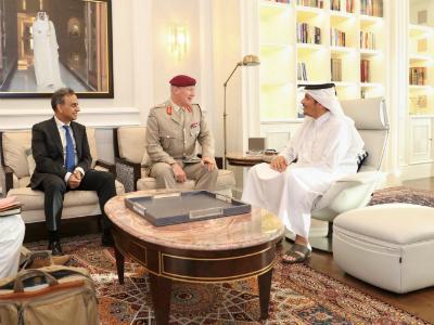 Deputy Prime Minister and Minister of Foreign Affairs Meets UK Defense Senior Advisor