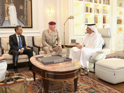 Deputy Prime Minister and Minister of Foreign Affairs Meets UK Defense Senior Advisor