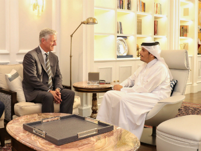 Deputy Prime Minister and Minister of Foreign Affairs Meets US Presidential Envoy for Hostage Affairs