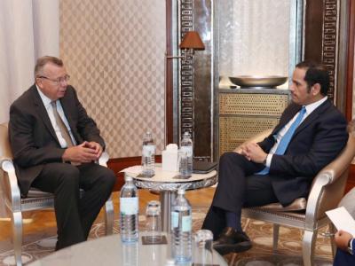 نائب رئيس مجلس الوزراء وزير الخارجية يجتمع مع مدير منظمة الأمم المتحدة لمكافحة الجريمة والمخدرات