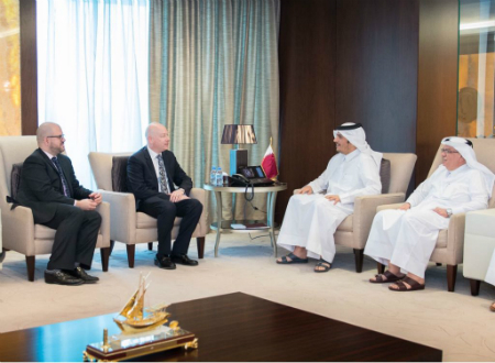 Deputy Prime Minister and Minister of Foreign Affairs meets Special Representative for International Negotiations