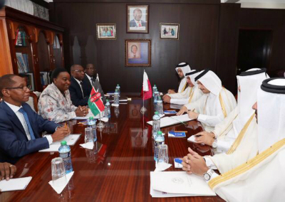 Deputy Prime Minister and Minister of Foreign Affairs Meets Kenyan Foreign Minister