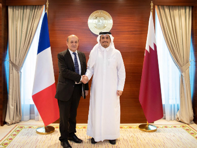 Deputy Prime Minister and Minister of Foreign Affairs Meets French Minister of Europe and Foreign Affairs
