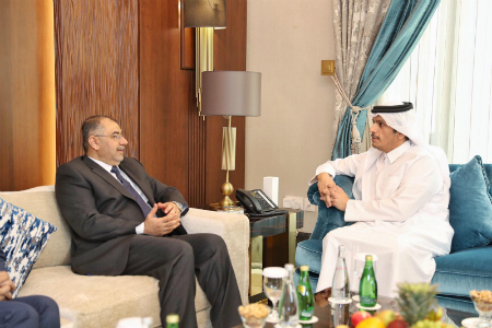 Deputy Prime Minister and Minister of Foreign Affairs Meets Iraq's Higher Education Minister