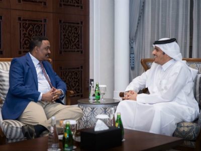 Deputy Prime Minister and Minister of Foreign Affairs Meets Ethiopian Foreign Minister
