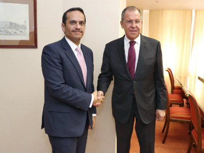 Deputy Prime Minister and Minister of Foreign Affairs Meets Russian Foreign Minister