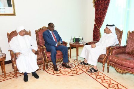 Deputy Prime Minister and Minister of Foreign Affairs Meets Sudanese Foreign Minister
