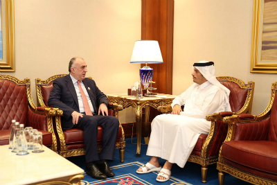 Deputy Prime Minister and Minister of Foreign Affairs Meets Azerbaijan Foreign Minister