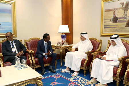 Deputy Prime Minister and Minister of Foreign Affairs Meets Somali Foreign Minister