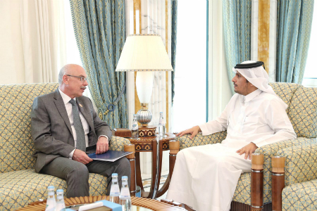 Deputy Prime Minister and Minister of Foreign Affairs Meets Under-Secretary-General of UN Counter-Terrorism Office