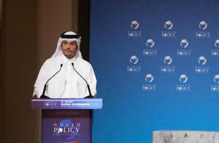 نائب رئيس مجلس الوزراء وزير الخارجية يدعو إلى توسيع الأمن الإقليمي بالشرق الأوسط