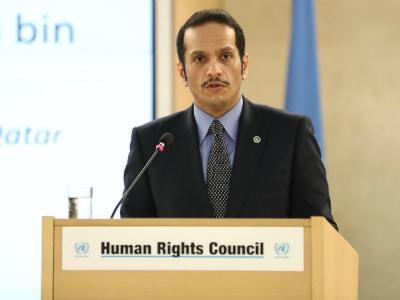 نائب رئيس مجلس الوزراء وزير الخارجية يدعو مجلس حقوق الإنسان لوقف انتهاكات الحصار