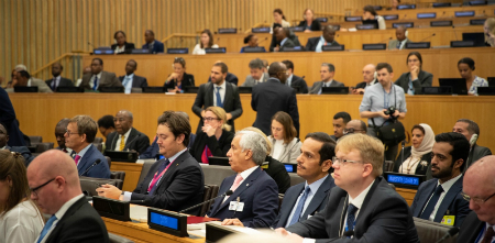 Deputy Prime Minister and Minister of Foreign Affairs Participates in a High-Level Meeting on Somalia