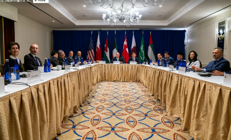 Deputy Prime Minister and Minister of Foreign Affairs Participates in Ministerial Meeting Hosted by US Secretary of State