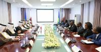 Deputy Prime Minister and Minister of Foreign Affairs Holds Talks with Rwandan Ministers, Officials