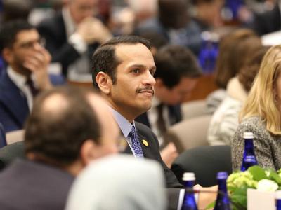 نائب رئيس مجلس الوزراء وزير الخارجية يعلن نية قطر استضافة اجتماع إقليمي لمواجهة جرائم داعش