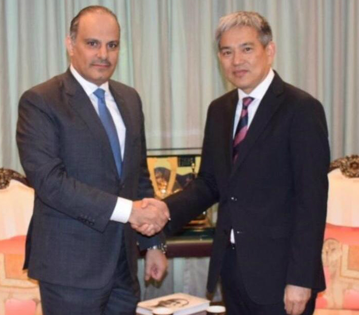 Foreign Ministry of Thailand Receives Copy of Credentials of Qatar's Ambassador