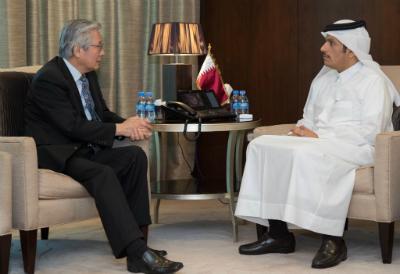 وزير الخارجية يلتقي ممثل الأمين العام للأمم المتحدة
