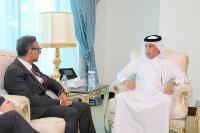 Minister of State for Foreign Affairs Meets UK Ambassador