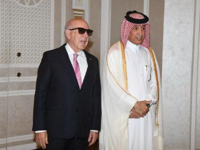 وزير الدولة للشؤون الخارجية يقيم حفل وداع لسفير الدومينيكان