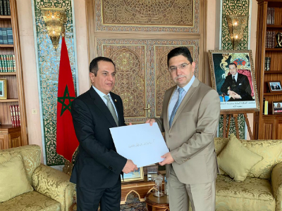 Moroccan Minister of Foreign Affairs Receives Copy of Credentials of Qatari Ambassador