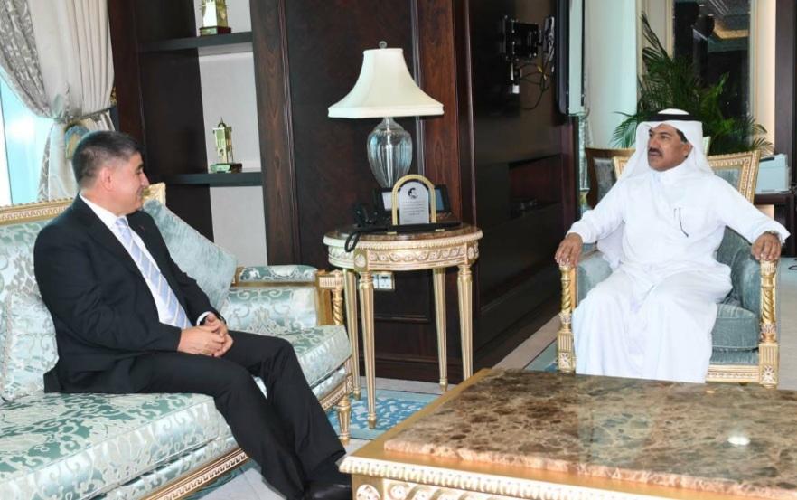 الأمين العام لوزارة الخارجية يجتمع مع السفير التركي