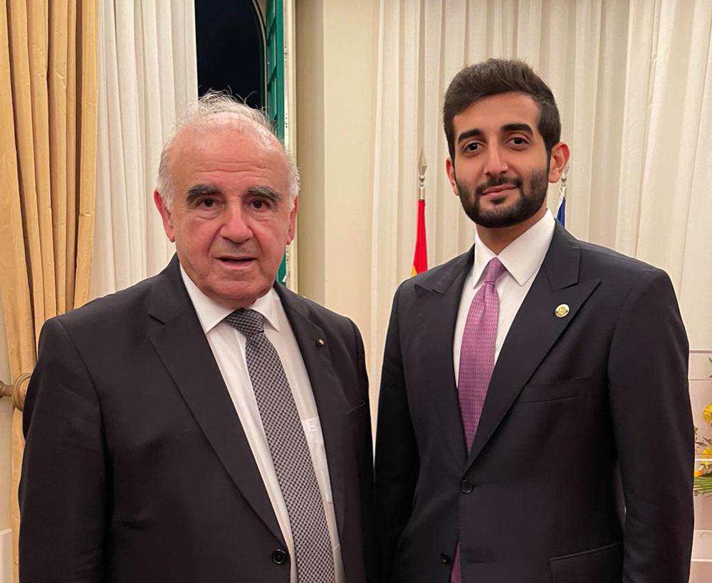 رئيس مالطا يلتقي القائم بالأعمال القطري