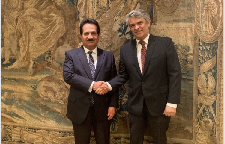 Deputy Prime Minister and Minister of Foreign Affairs Sends Message to Brazilian FM