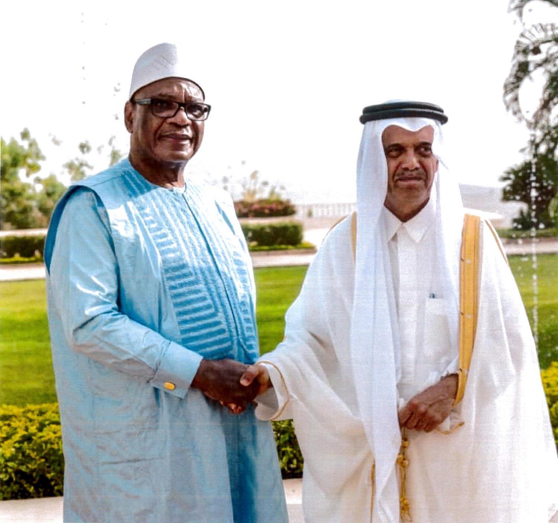 سمو الأمير يبعث برسالة خطية إلى رئيس جمهورية مالي