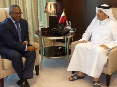 Foreign Minister Meets Prime Minister Of Guinea-Bissau