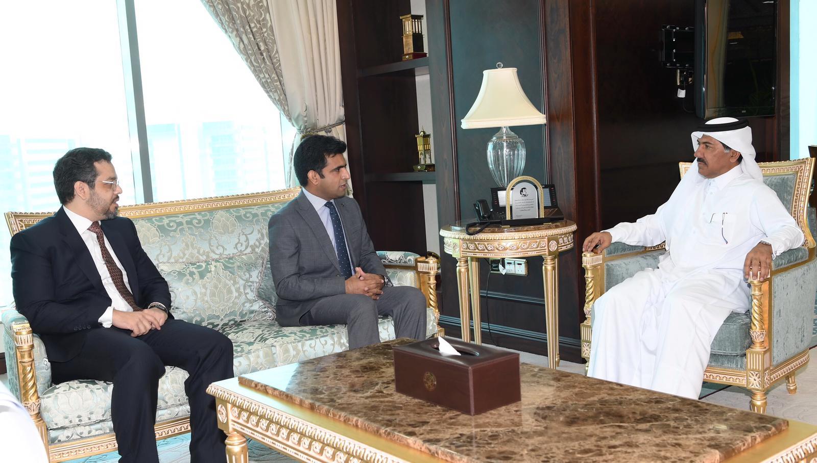 الأمين العام لوزارة الخارجية يجتمع مع القائم بالأعمال بالإنابة الباكستاني