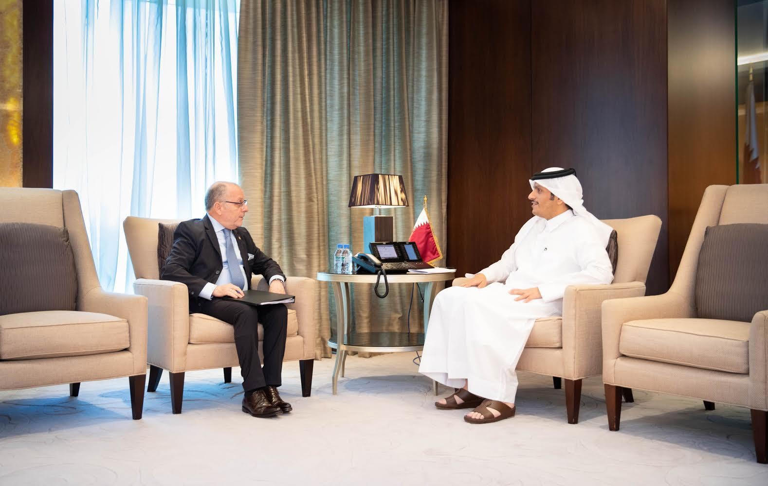 Deputy Prime Minister and Minister of Foreign Affairs Meets Argentine's Minister of Foreign Affairs and Worship