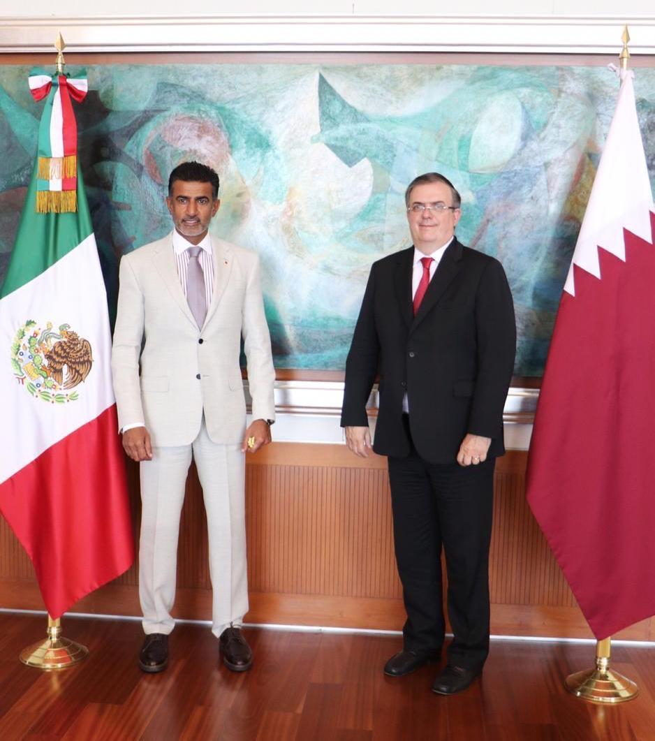 سفارة دولة قطر تقدم شحنة مساعدات طبية إلى المكسيك