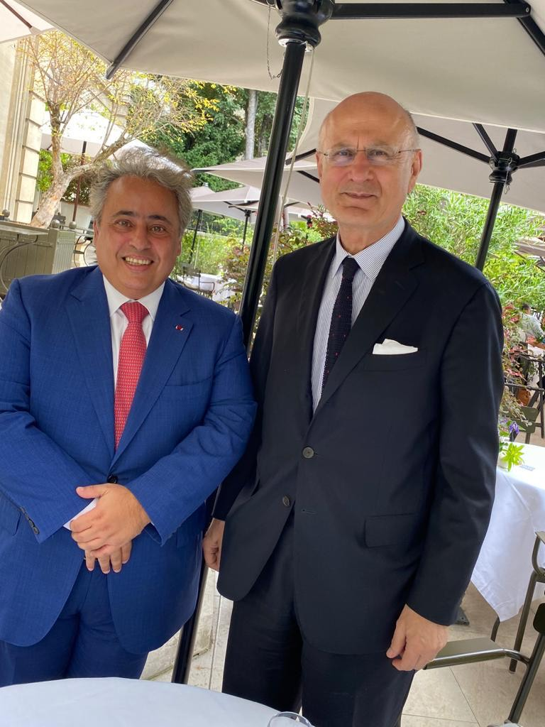 National Coordinator of French Intelligence and Fight against Terrorism Meets Qatar's Ambassador