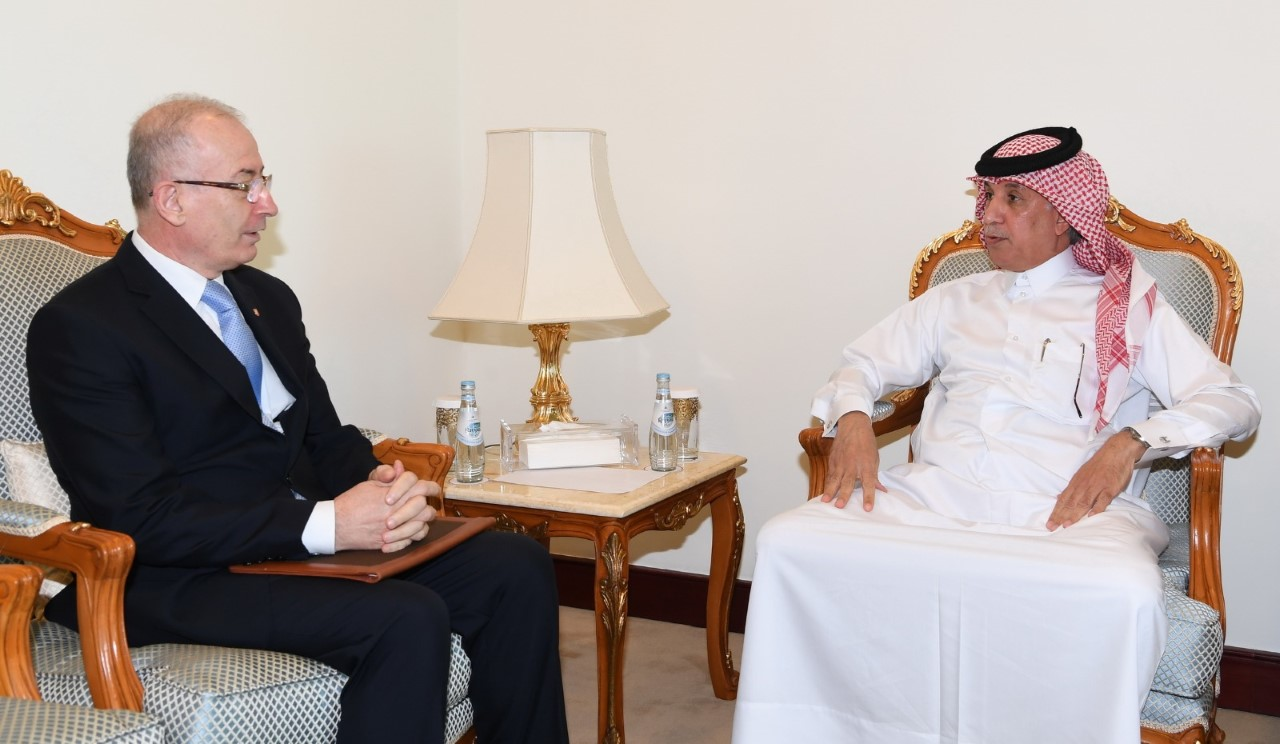 HH the Amir Receives Written Message from Prime Minister of Albania