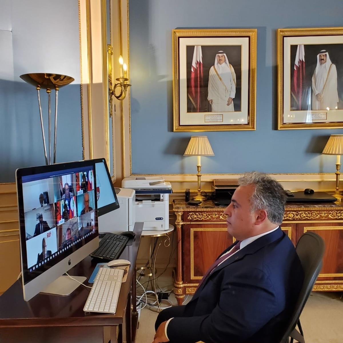 دولة قطر تشارك في اجتماع المجلس الدائم للفرنكوفونية