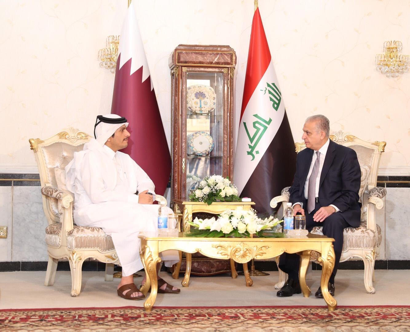 Deputy Prime Minister and Minister of Foreign Affairs Meets Iraqi Foreign Minister