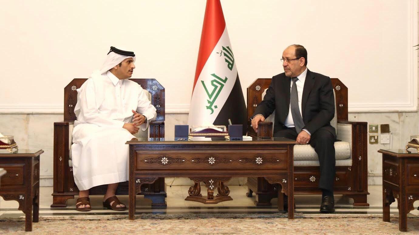 نائب رئيس مجلس الوزراء وزير الخارجية يجتمع مع قيادات سياسية عراقية