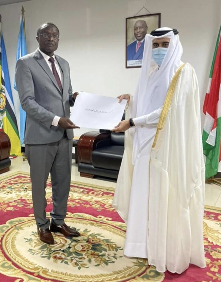 Burundian Foreign Ministry Receives Copy of Credentials of Qatari Ambassador