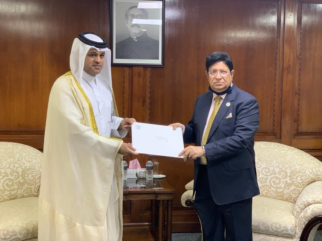 HH the Amir Sends Written Message to Prime Minister of Bangladesh