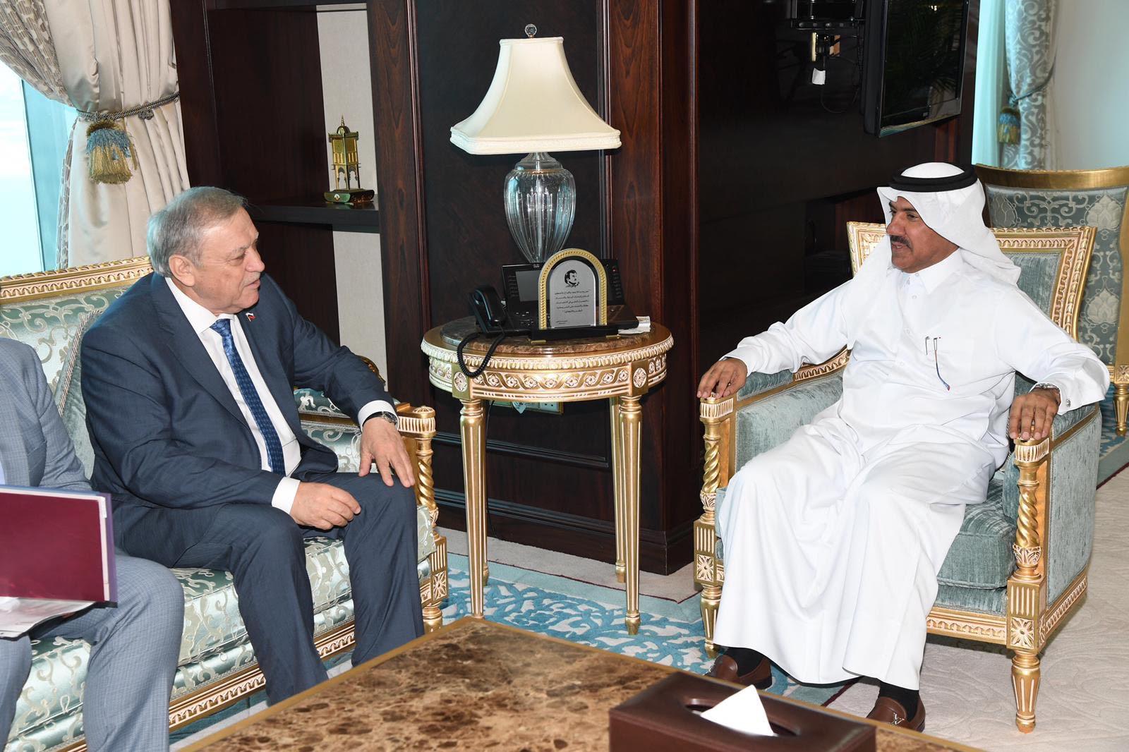 الأمين العام لوزارة الخارجية يجتمع مع سفير روسيا الاتحادية