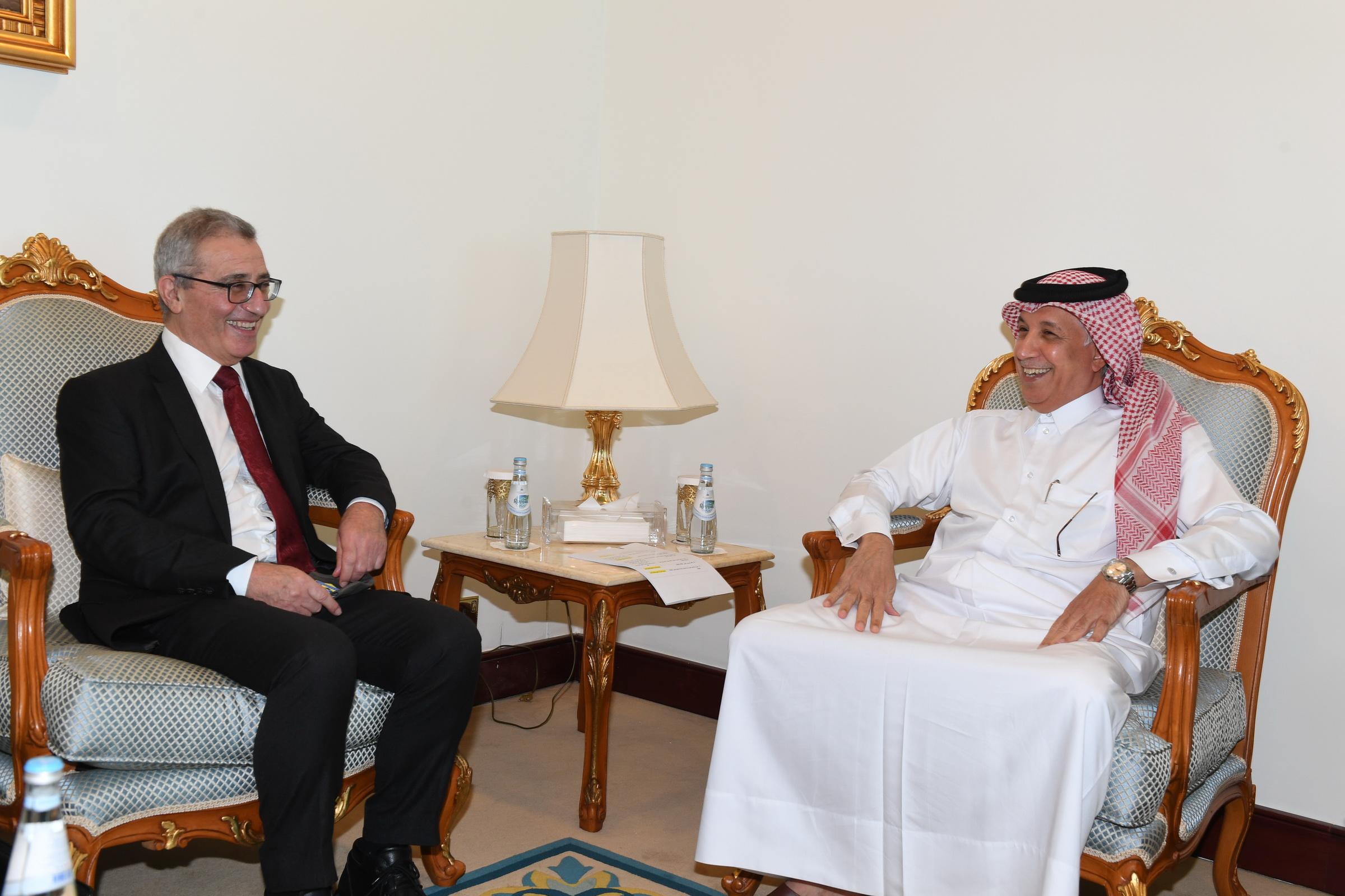 وزير الدولة للشؤون الخارجية يجتمع مع وزير الشؤون الخارجية والأوروبية في مالطا