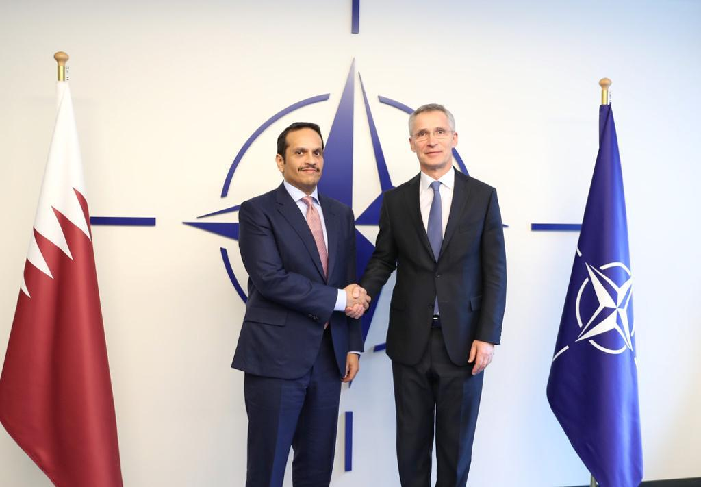 Deputy Prime Minister and Minister of Foreign Affairs Meets NATO Secretary General