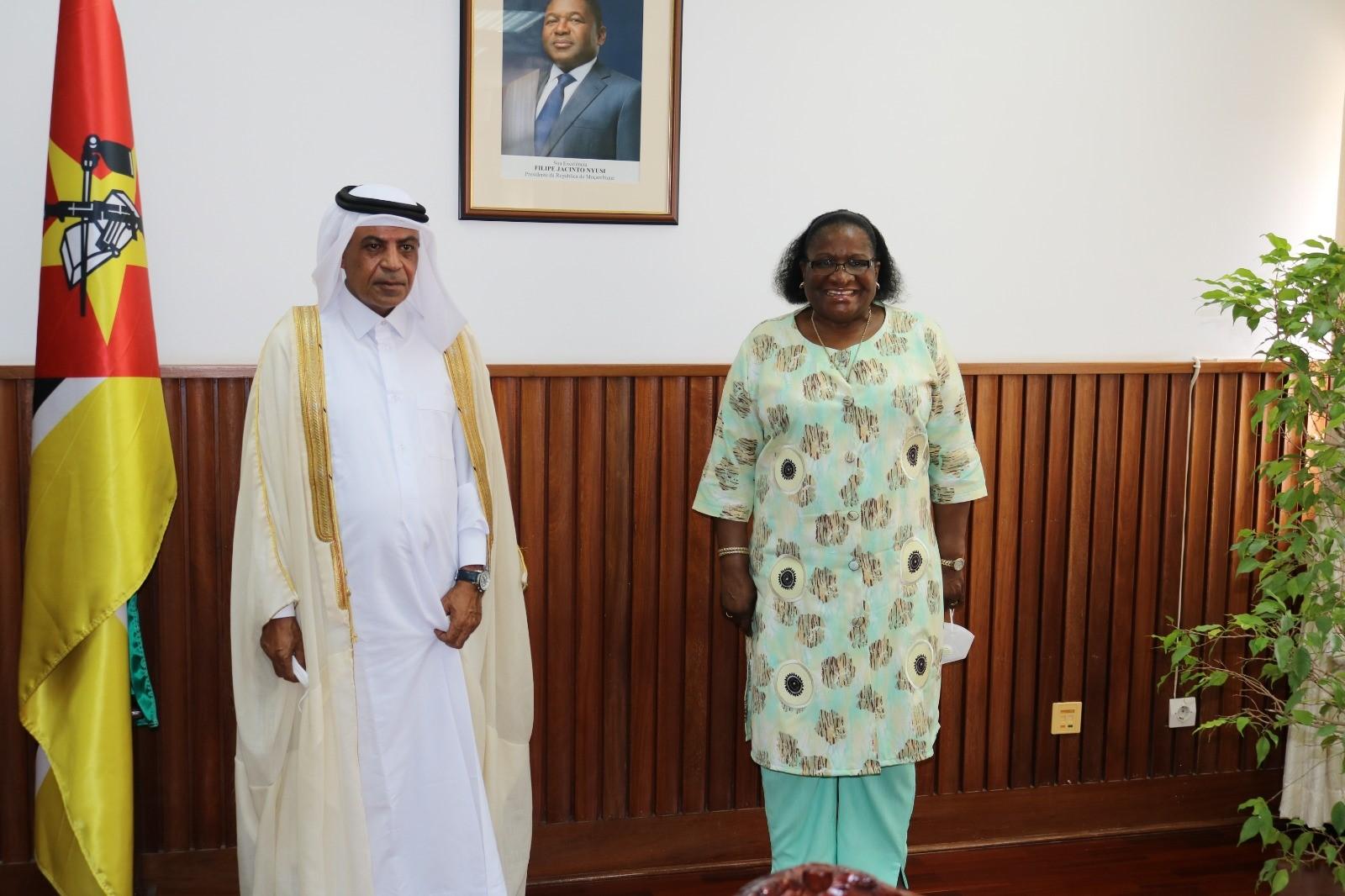 رسالة من نائب رئيس مجلس الوزراء وزير الخارجية لوزيرة الشؤون الخارجية والتعاون في جمهورية موزمبيق