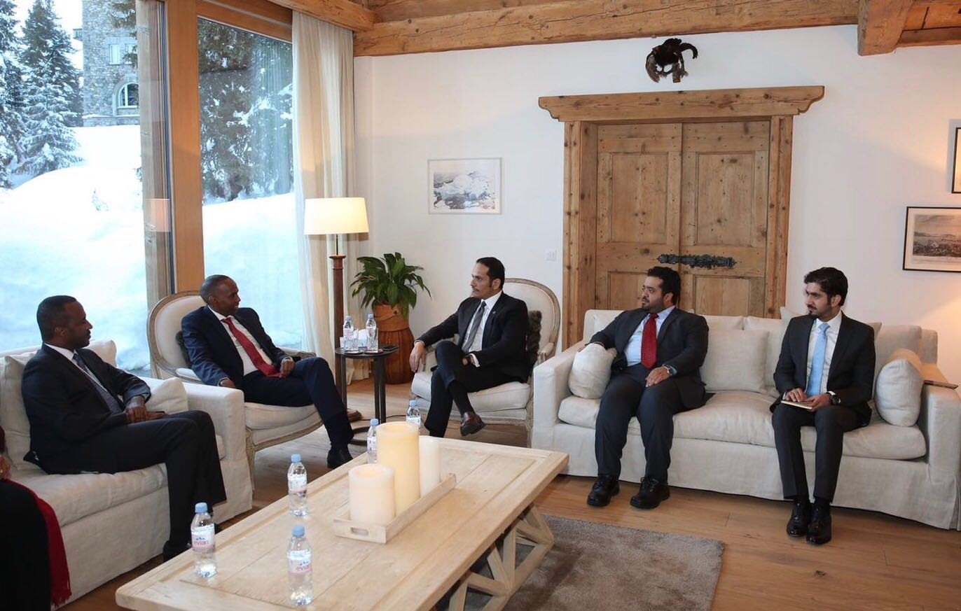 Deputy PM and Foreign Minister Meets Prime Minister of Somalia