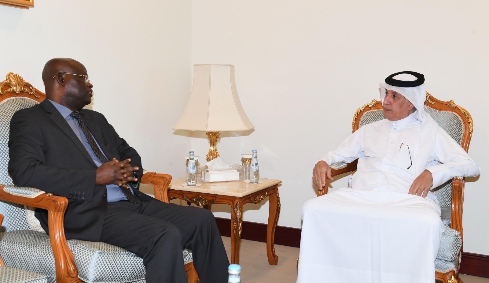 وزير الدولة للشؤون الخارجية يُودّع سفير بوروندي