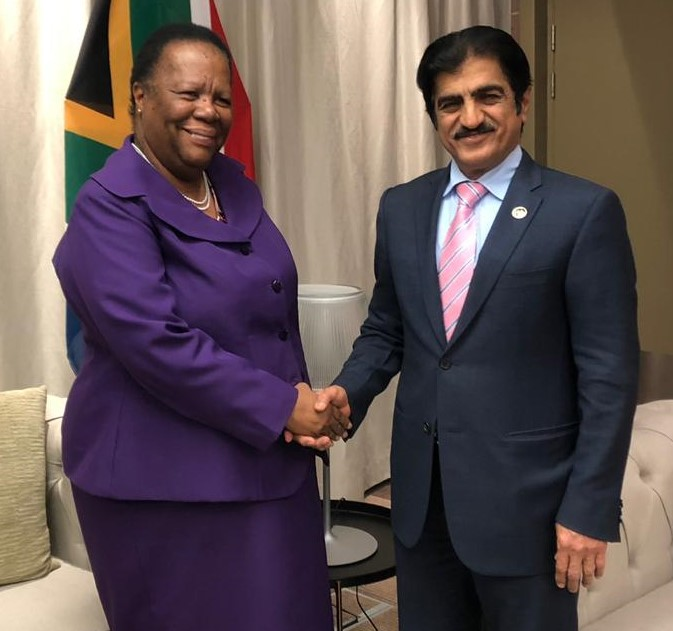 Deputy Prime Minister and Minister of Foreign Affairs Sends Two Written Messages to South African Minister of International Relations and Cooperation