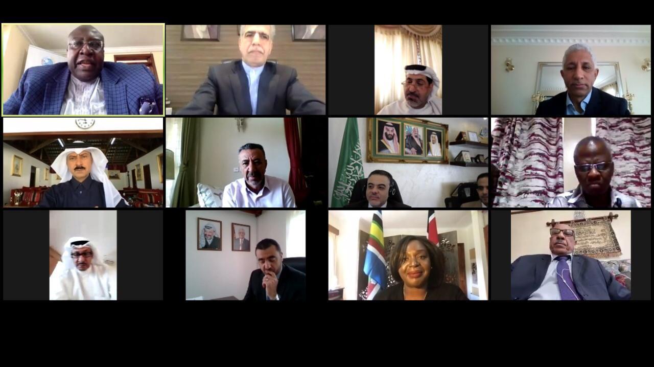 وزيرة الخارجية الكينية تجتمع مع سفراء دول الشرق الأوسط بمشاركة قطر