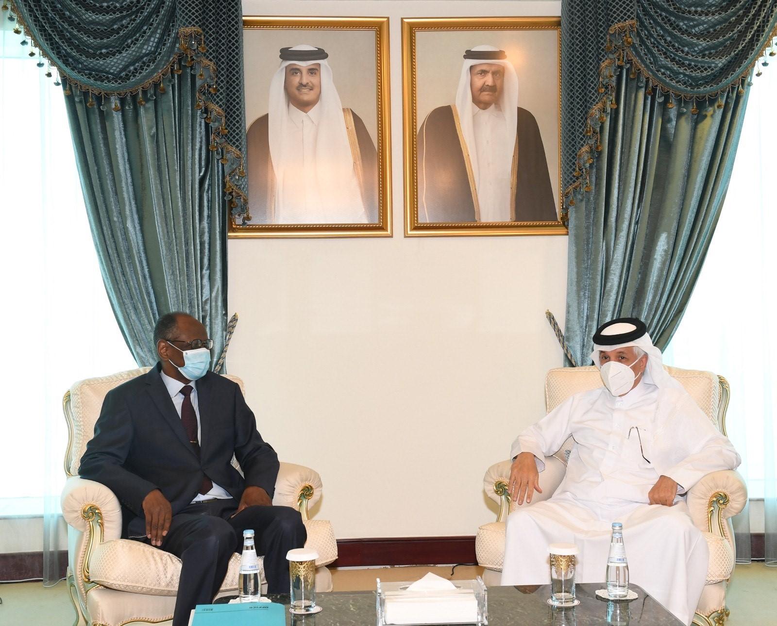 وزير الدولة للشؤون الخارجية يجتمع مع الأمين العام لوزارة خارجية مالي