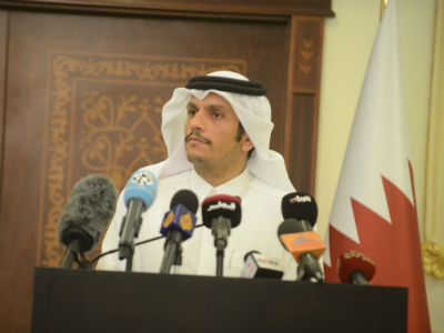 Foreign Minister: 'Qatar Will Address the Media Campaign Targeting It'